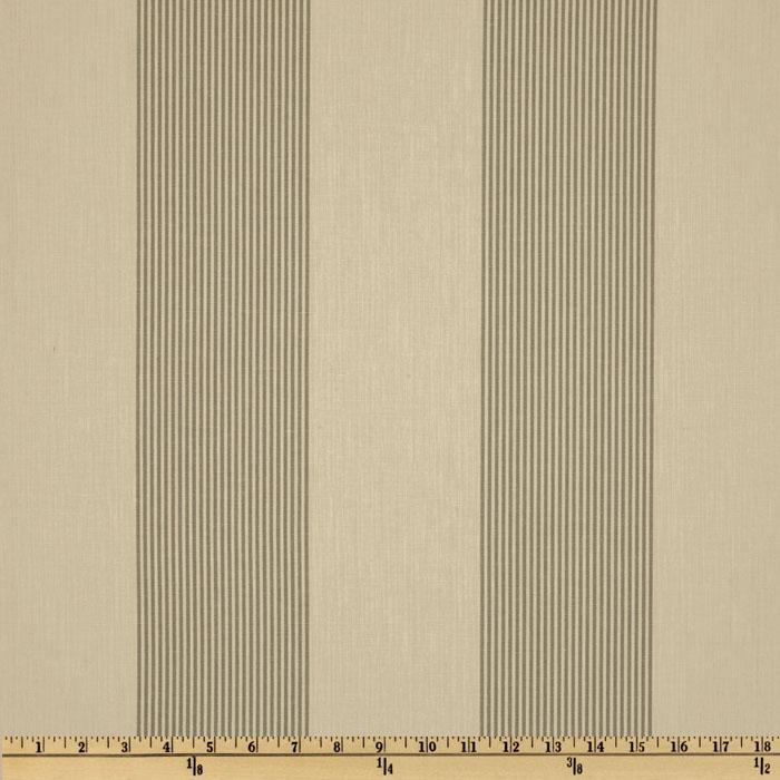 Magnolia Home Fashions Belle Isle Stripe Pewter