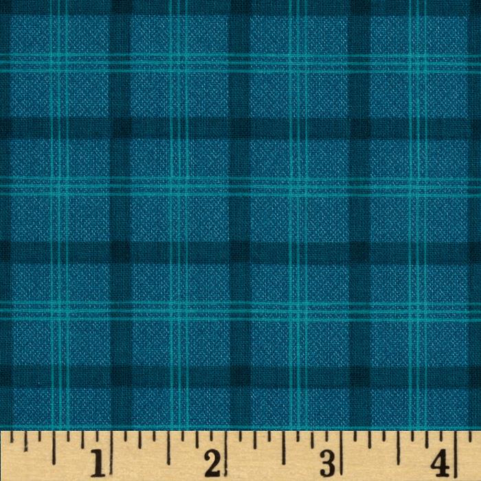 Prairie Home and Companions Plaid Turquoise
