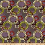 Moda Juggling Summer Intertwined Circles Purple