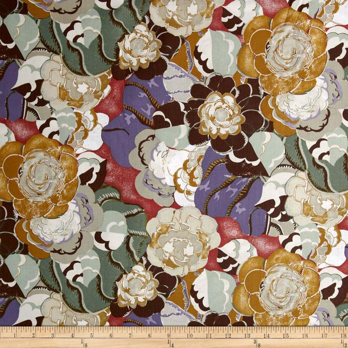 Benedictus Floral Tan
