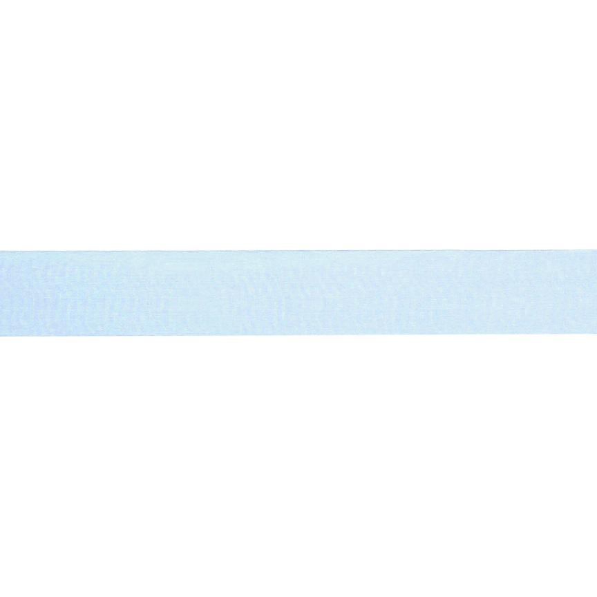 1&#39;&#39; Sheer Organza Ribbon Light Blue