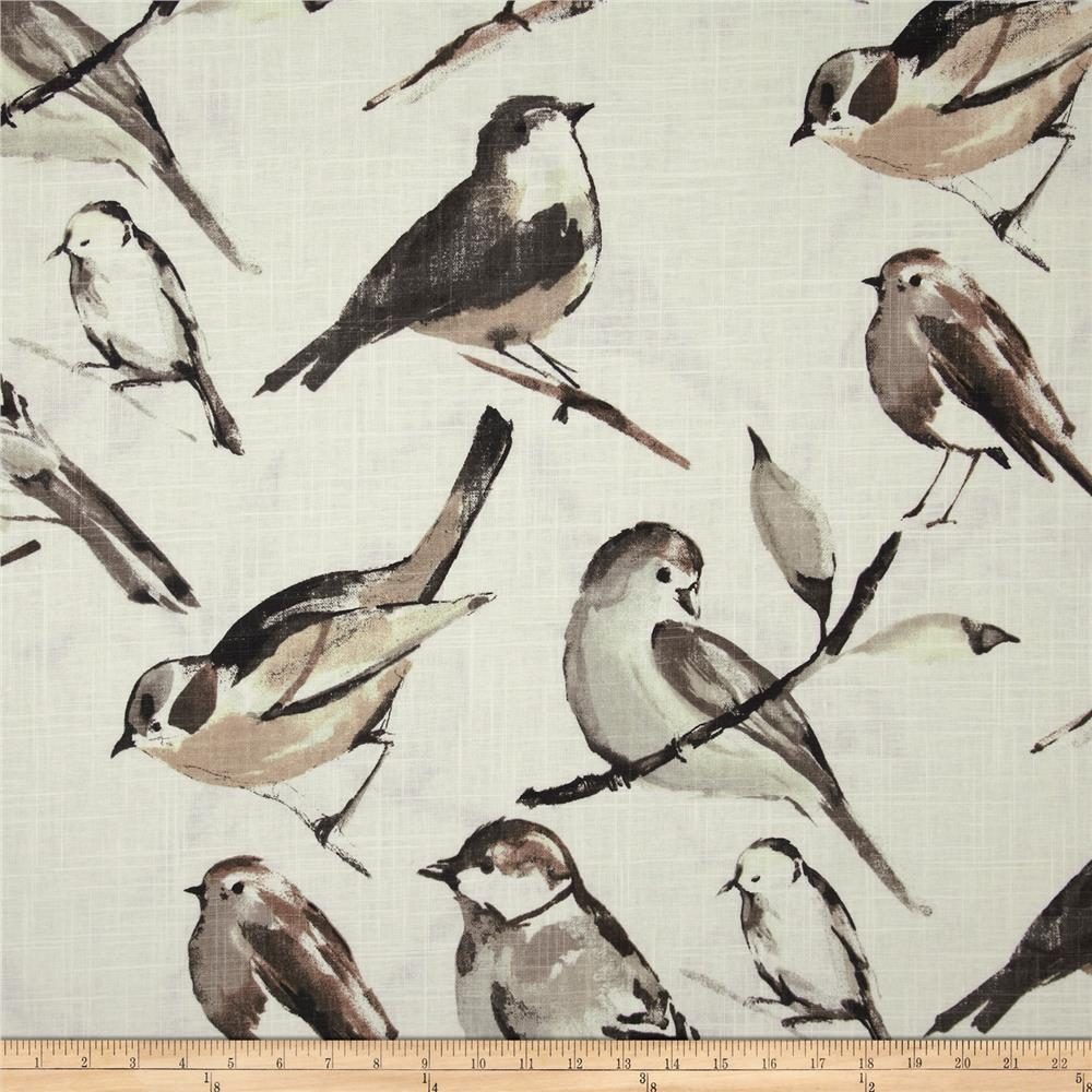 Richloom Birdwatcher Charcoal