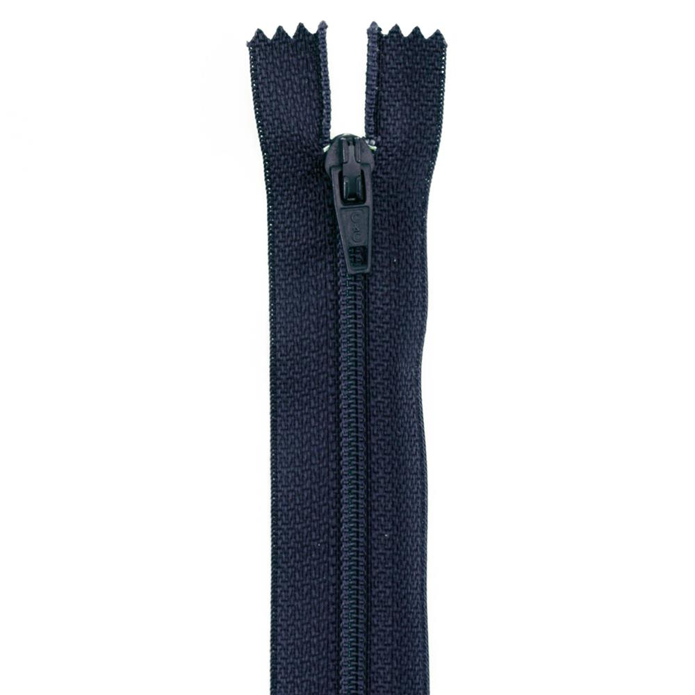 14&#39;&#39; Poly All Purpose Zipper Navy Blue