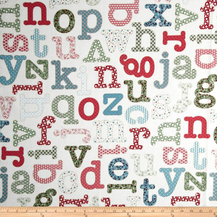 Homeschool Alphabet White