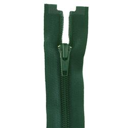 "Coats & Clark Coil Separating Zipper 18"" Forest Green"