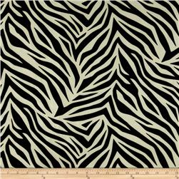 Tempo Tiger Flocked Taffeta White/Black