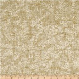 American Beauty Toile Tan/White