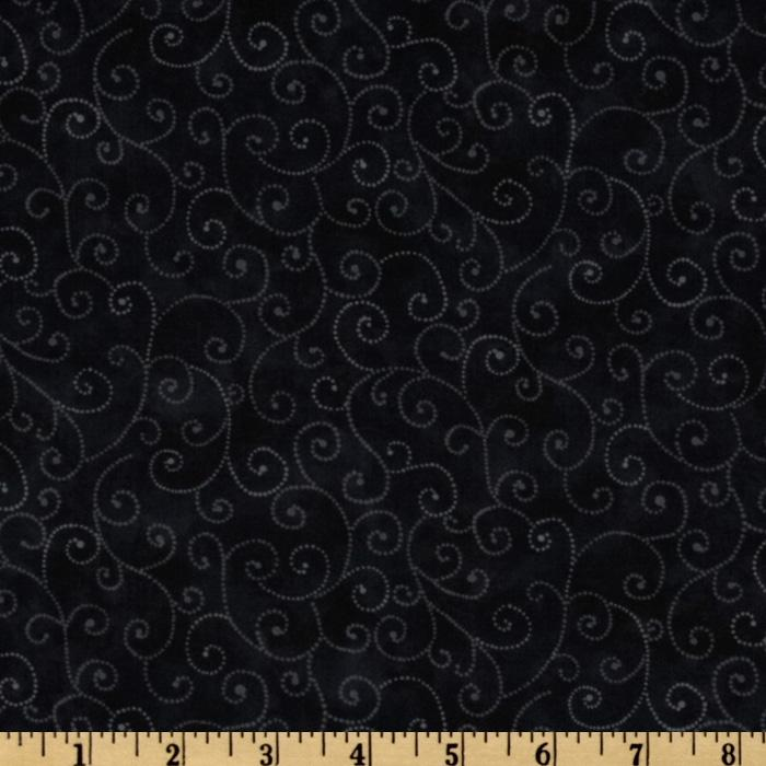 Moda Marble Swirls (9908-29) Jet Black