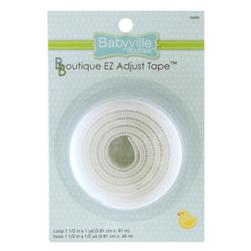 Babyville Boutique EZ Adjust Tape White
