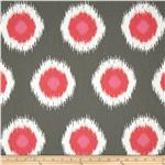 UQ-072 Premier Prints Ikat Domino Flamingo