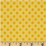 0271798 Riley Blake Small Dots Tone on Tone Yellow