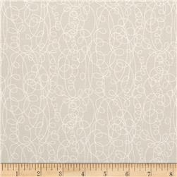 Classical Elements Squiggle Sketch Taupe