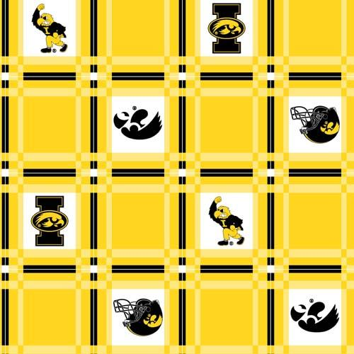 Collegiate Tailgate Vinyl Tablecloth University of Iowa
