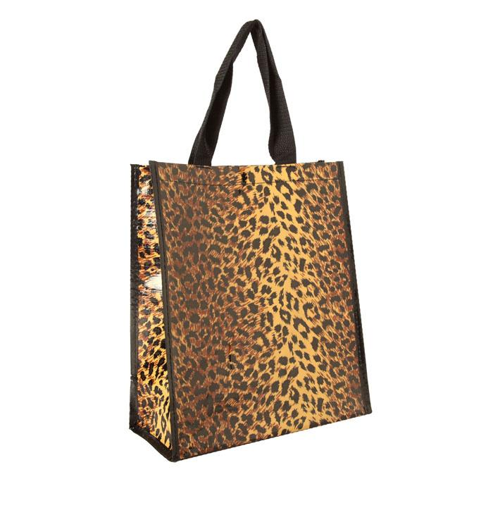 Insta-Tote Leopard Lunch Tote