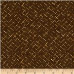 Moda Enchanted Pond Prints Diamonds Brown