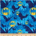 Batman Bats and Symbols Blue/Yellow
