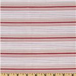 Kaufman Dobby Stripe Shirting Pink