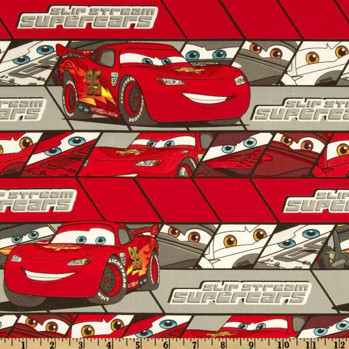 Cars Lightning McQueen Stripe Red