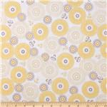Riley Blake Willow Large Medallion Yellow