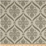 Moda Jubilee Bunny Damask Dark Grey
