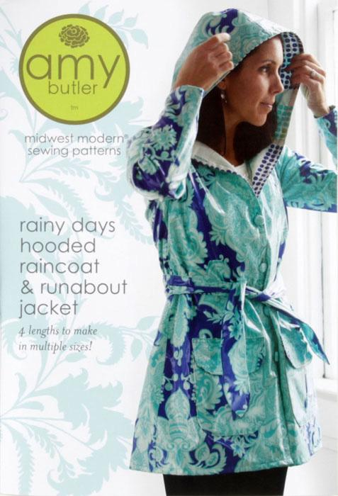 Amy Butler &#39;&#39;Rainy Days&#39;&#39; Raincoat &amp; Jacket Pattern