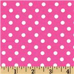 DF-501 Michael Miller Dumb Dot Fuchsia