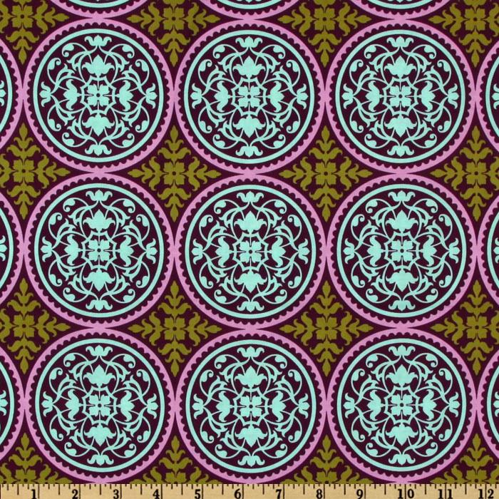 Aviary 2  Scrollwork  Plum