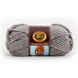 Lion Brand Hometown USA Yarn (149) Dallas Grey