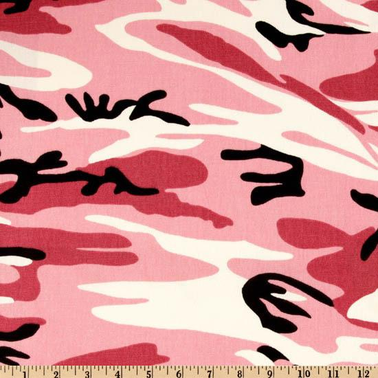 Premier Prints Camo Pink