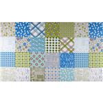 FO-483 Millie&#39;s Closet Designer Cloth Panel Blue
