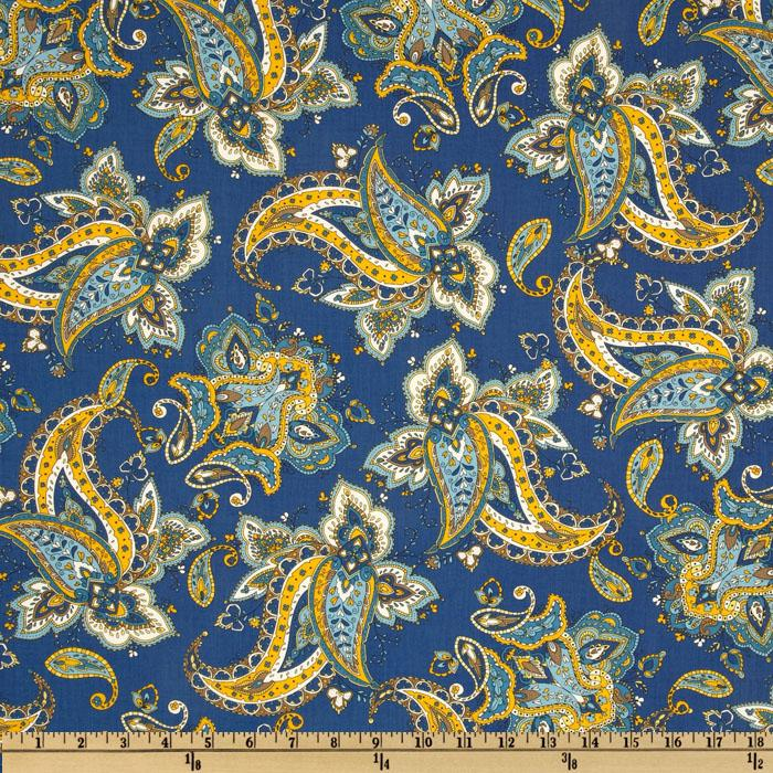 St. Croix Paisley Bouquet Royal
