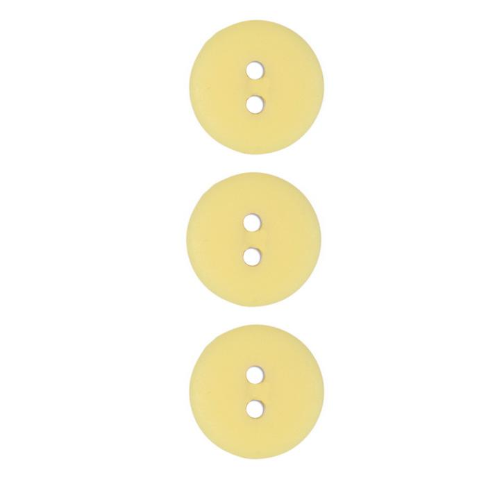 Fashion Button 3/4&#39;&#39; Petaluma Light Yellow