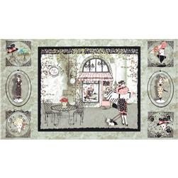 Frou Frou Shopping Panel Grey