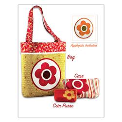 Kwik Sew Craft Flower Bag & Cases (3857) Pattern