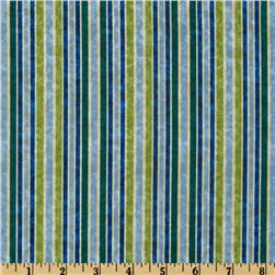 Winter Parade Stripe Blue