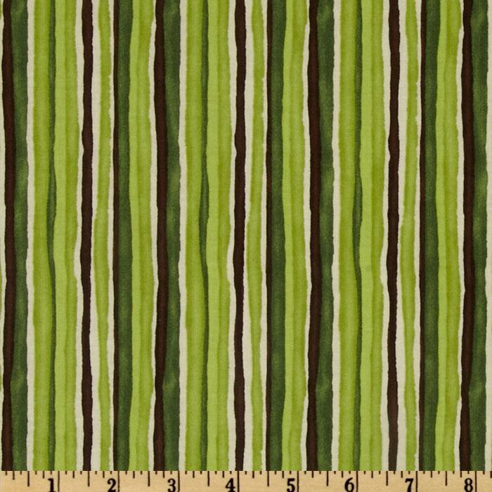 Butterfly Bliss Stripe Green