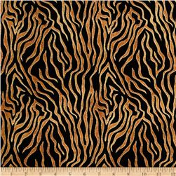Wild Side Zebra Print Rust/Black