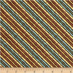 Monkey Games Small Stripe Brown/Multi