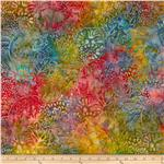 0274460 Artisan Batiks: Totally Tropical 2 Coral Reef Tropical Green