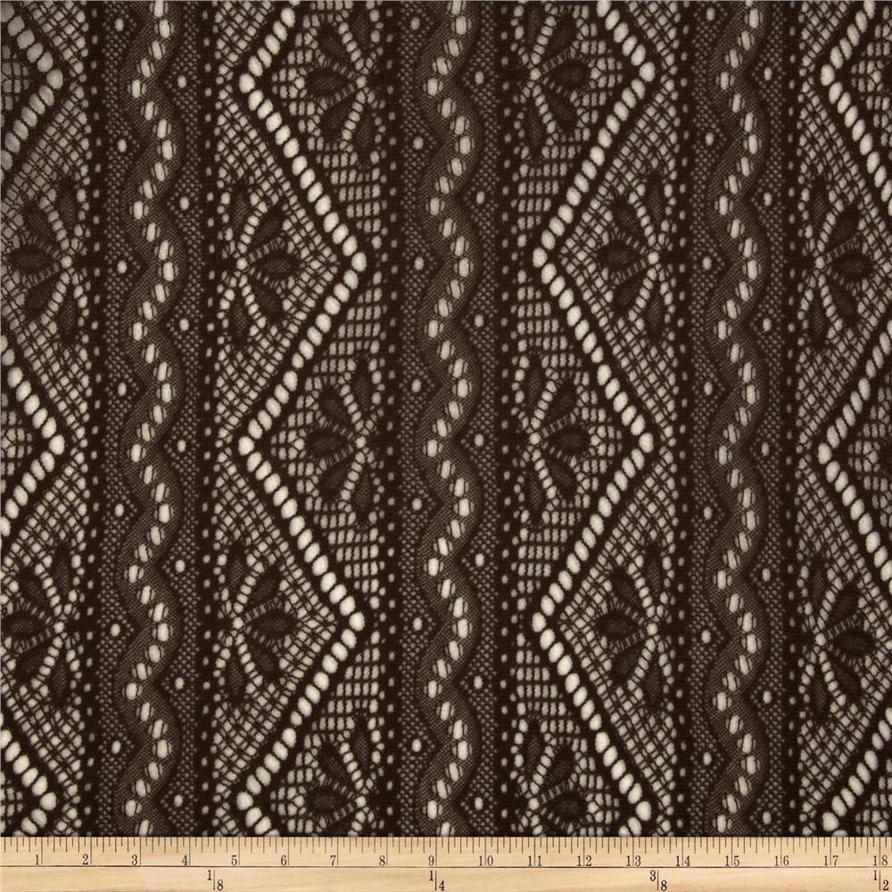 Crochet Lace Brown