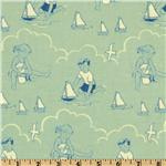 FR-079 Seaside Beach Babies Blue