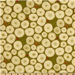 FO-973 Martha Negley Classics Collection Tree Rings Olive