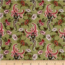 Small Floral Green/Multi