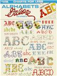 Leisure Arts ''Alphabets Galore'' Cross Stitch Book