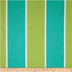 P Kaufmann Indoor/Outdoor Cabana Stripe Turquoise