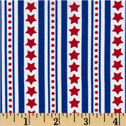 Freedom  Star Stripes Celebrations Red/White/Blue