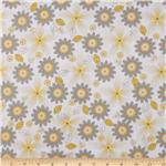 211405 Riley Blake Willow Floral Yellow