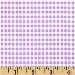 Moda Celebration Gingham Check Lavender