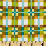 Mischief Flannel Happy Plaid Green