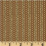 234002 Hampton Farm Repeating Stripe Brown